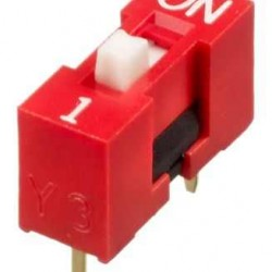 1 li Dip Switch 2.54mm ON-OFF
