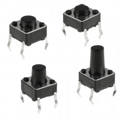 6x6 9mm Tact Switch Buton