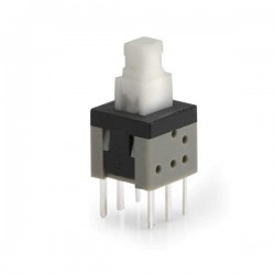 6x6 On-Off Buton Switch - Anahtarlı