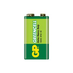 9V Kare Pil 9 volt GP Greencell 1604G