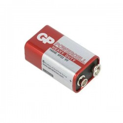 9V Kare Pil 9 volt GP Powercell 1604E