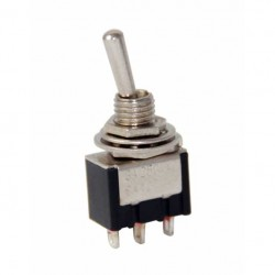 MTS-113 Toggle Switch ON-OFF-ON Yaylı 250V 3A