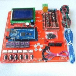 Ramps 1.4 + Arduino Mega + DRV8825 + HeadBed + LCD Full Set
